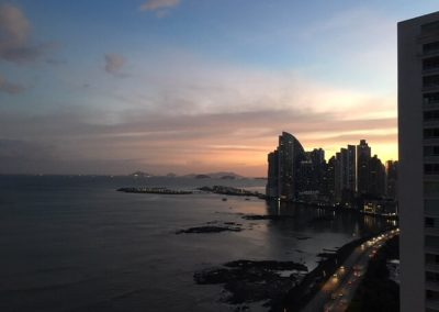 Sunset In Panama